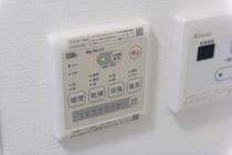 電気温水器操作パネル