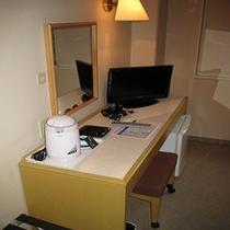 部屋の設備