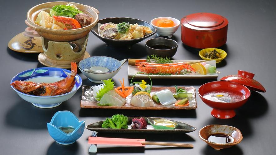 夕食一例【国東の四季プラン】
