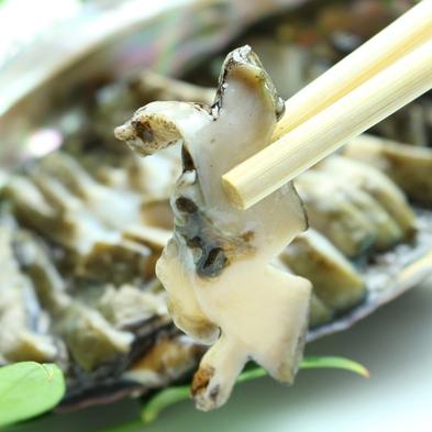 《1日2組・愛知県民限定》アワビのお造り付き◆コリコリ食感を楽しむ!