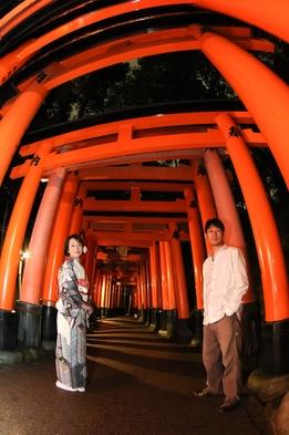 【カメラマン同行オプション・素泊まり】京都旅行は町家スタイルの宿でプライベートステイ
