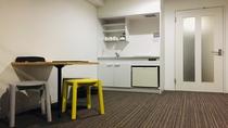 ■ 6名個室 ■ テーブル・椅子もおいています。