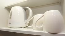 ■マグカップ・電気ケトル