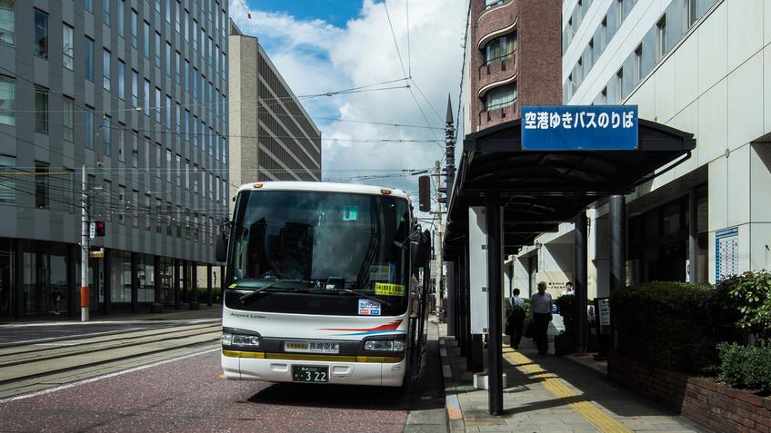 ホテル玄関/長崎空港線 エアポートライナー