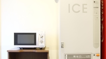 電子レンジ&製氷機