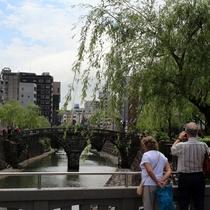【観光スポット】眼鏡橋