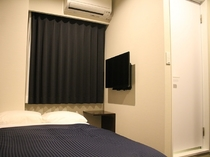 シングルルーム☆全室シモンズ製ベッド※2名様の場合は添い寝でのご利用になります。