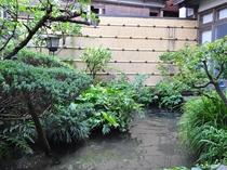 【庭園】心安らぐ景色があります。