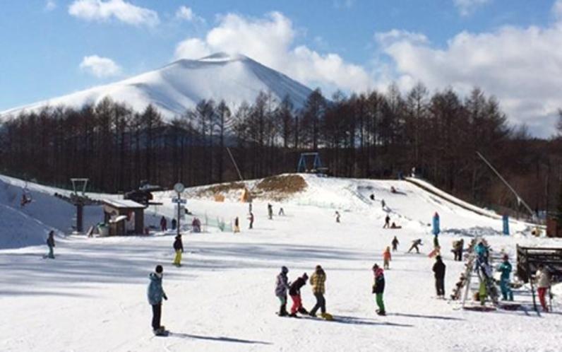 パルコール嬬恋スキーリゾート(あいさいから車で3分)