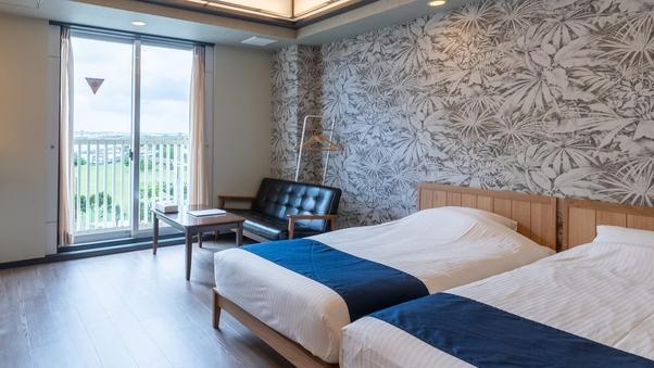 【禁煙】3名まで泊まれるクイーン+シングルベッドルーム