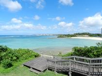 砂辺馬場ビーチ(ホテルから徒歩1分)