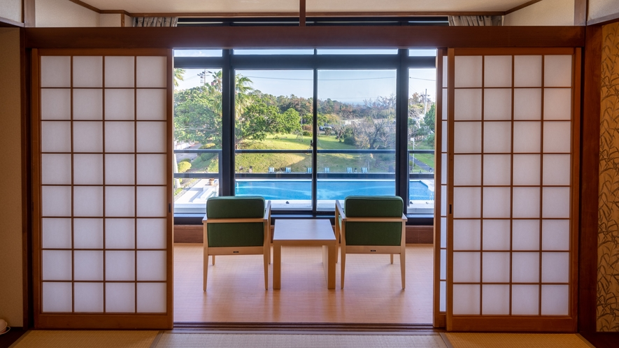 【ガーデンビュー】和室8畳(3F)