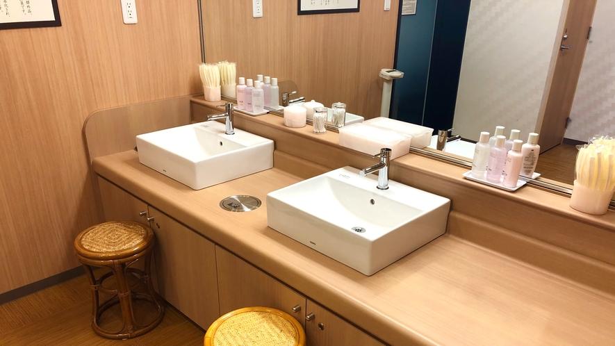 洗面台(女性大浴場)