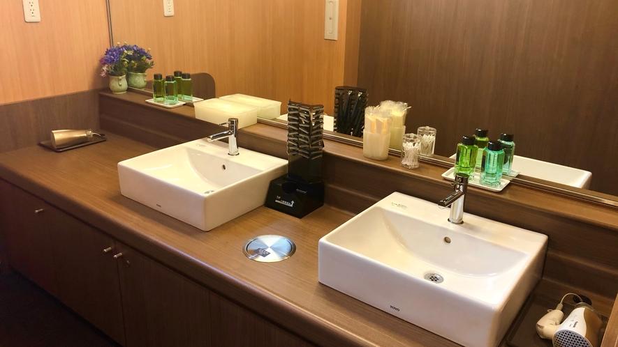 洗面台(男性大浴場)