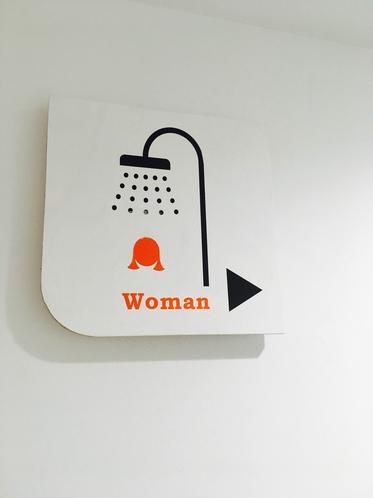 女性専用更衣室