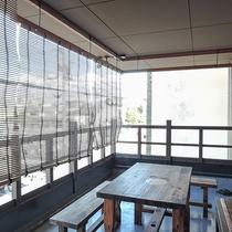 *【喫煙所】2Fテラスに喫煙スペースがございます。