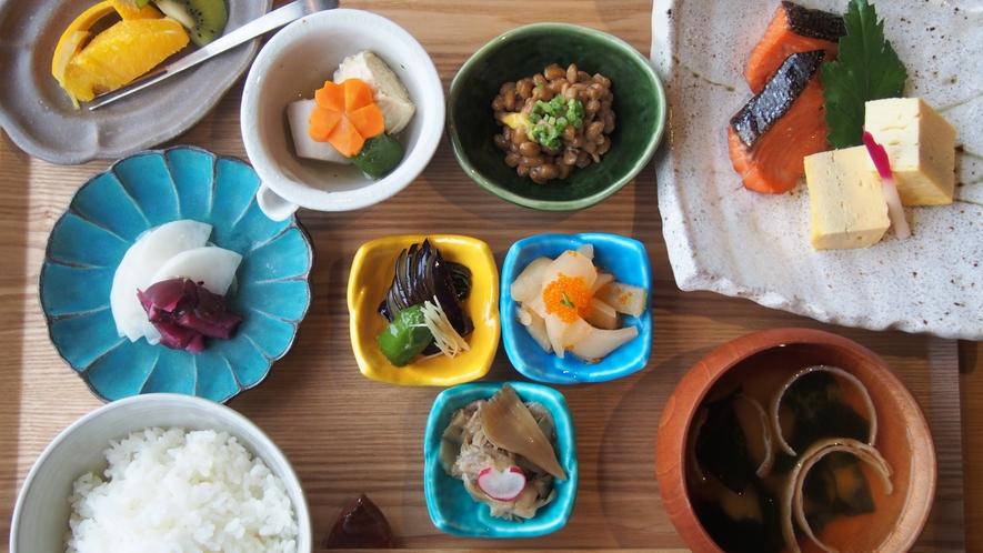 【朝食】和食プレート(焼き魚)