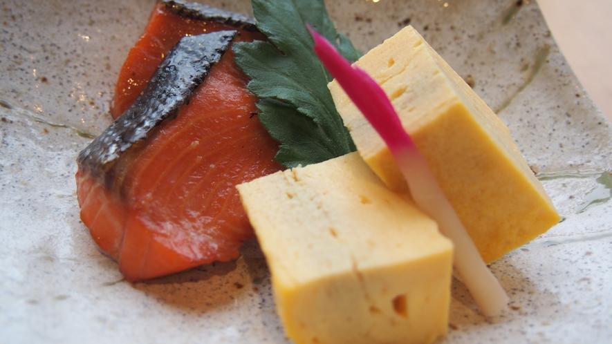 【朝食】焼き魚(和食)