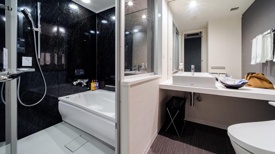 セミセパレートタイプ バスルーム(例)