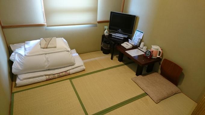 素泊まり♪ 和室シングルルーム4.5畳(1人用)男性限定。