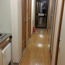 和室シングル3室専用のバストイレ