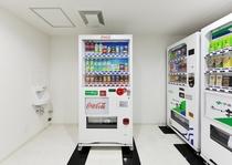 5階 ソフトドリンク自販機コーナー(アルコールはフロントで販売)