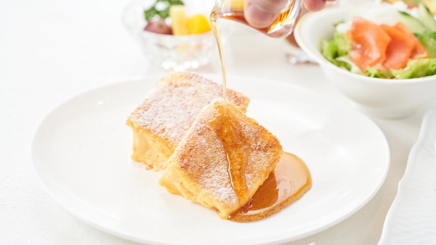 あまーいフレンチトーストで朝から贅沢に♪