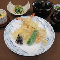 【ゆったりプラン】和食「天ぷらご膳」
