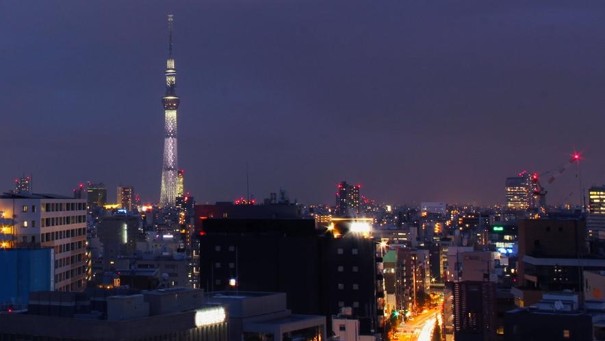 ≪ナイスビュープラン≫客室からの夜景一例(お部屋により異なります)