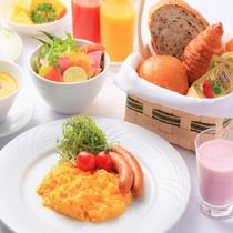 朝食ビュッフェ(盛り付け)