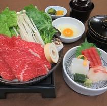 【ゆったりプラン】和食「牛すき焼きご膳」