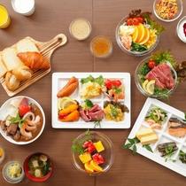 ■朝食:1Fレストラン・6:30スタート/朝早いお客様もお召し上がりいただけます