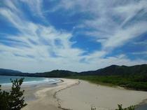 大岐ビーチ 徒歩2分  四国屈指の美しいビーチです。