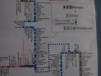 バス利用時 高知西南交通バス「芝」バス停より2,3分です。