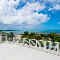 *[屋上テラス]東シナ海を一望できるご宿泊者様限定のプライベートテラス