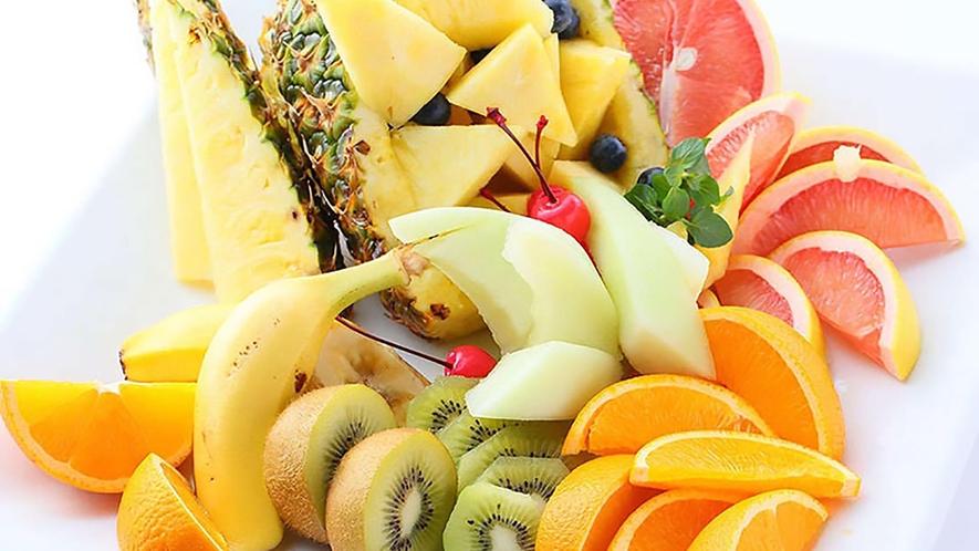 フルーツもあります