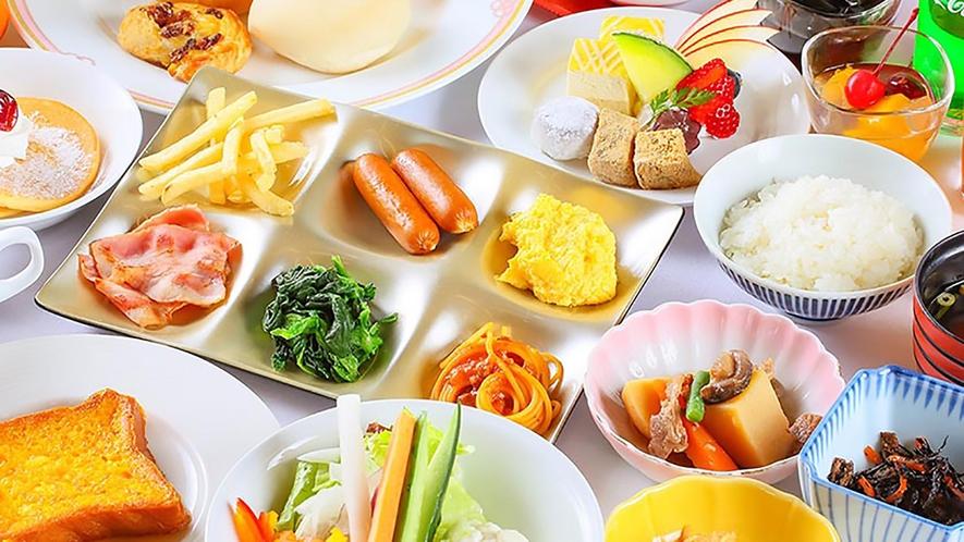 欲張り朝食バイキング ※イメージ