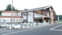 *外観/秋田空港から車で約20分とアクセス良好!