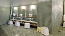 *男性用大浴場一例/夜は21時まで・朝は6時からご利用いただけます。