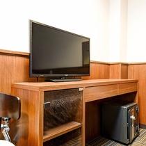 *[スタンダードツイン一例]シンプルな客室設備