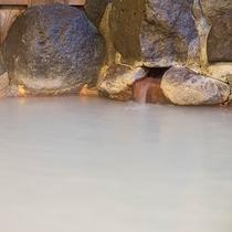*[露天風呂一例]小さなお子様からご年配の方までお楽しみいただける優しい温泉です