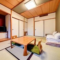 *[和室7.5畳一例]落ち着いた和の雰囲気♪シンプルな造りの7.5畳のお部屋