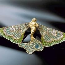 *[箱根ラリック美術館一例]ブローチ「ラ・シルフィード」