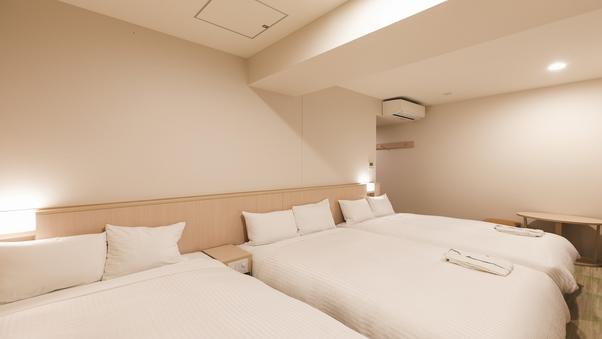 【全室禁煙】トリプルルーム◇ベッド3台◇