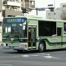 京都観光は市バスが便利♪