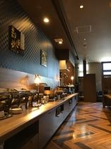 朝食レストランBiKuRaカウンター