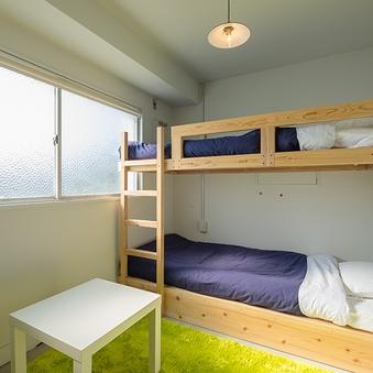 洋室2段ベッド(バス・トイレなし)