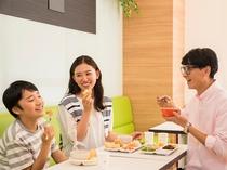 ◆添い寝のお子様も朝食は無料でご利用いただけます◆
