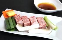 近江牛のサイコロステーキ