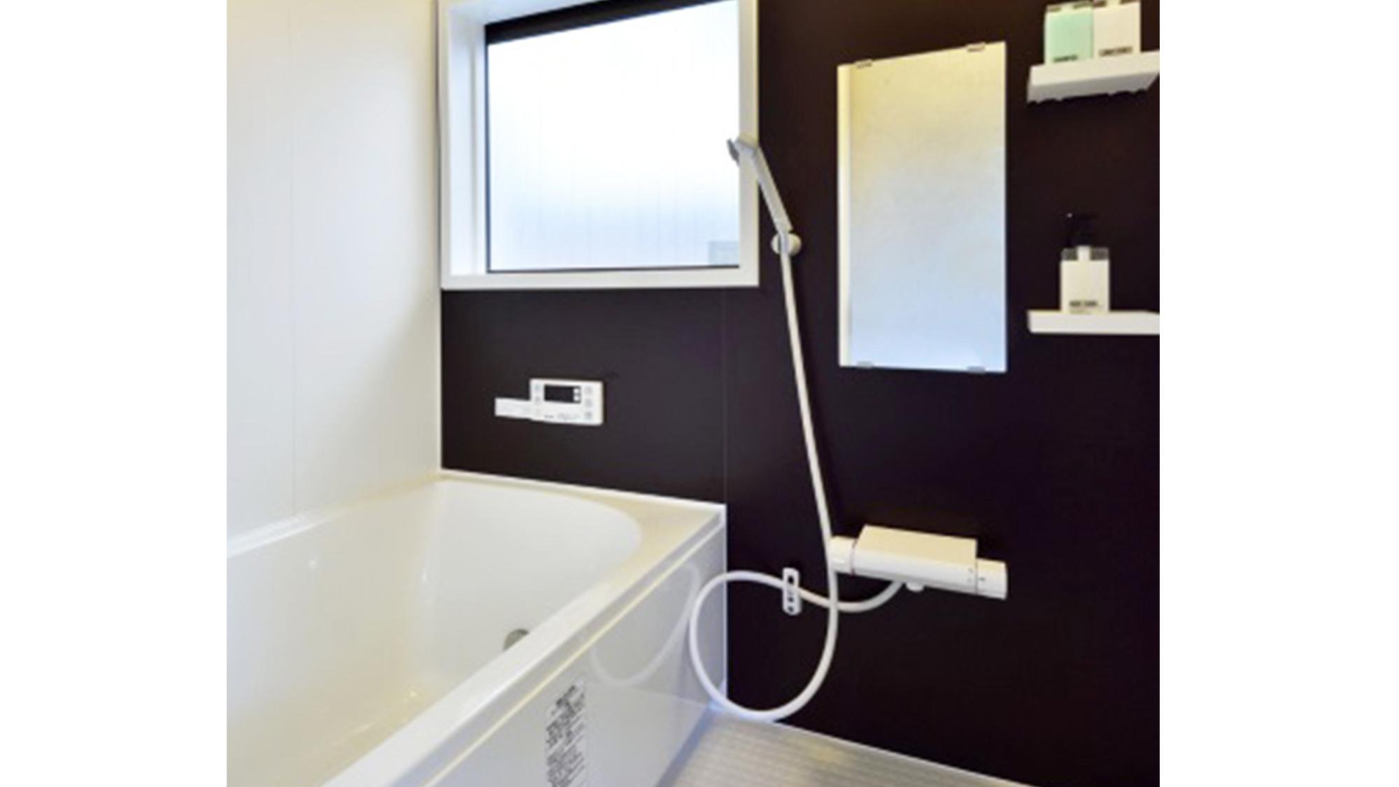 ・<浴室>ファインバブルシャワーが放出されるシャワーヘッドを採用